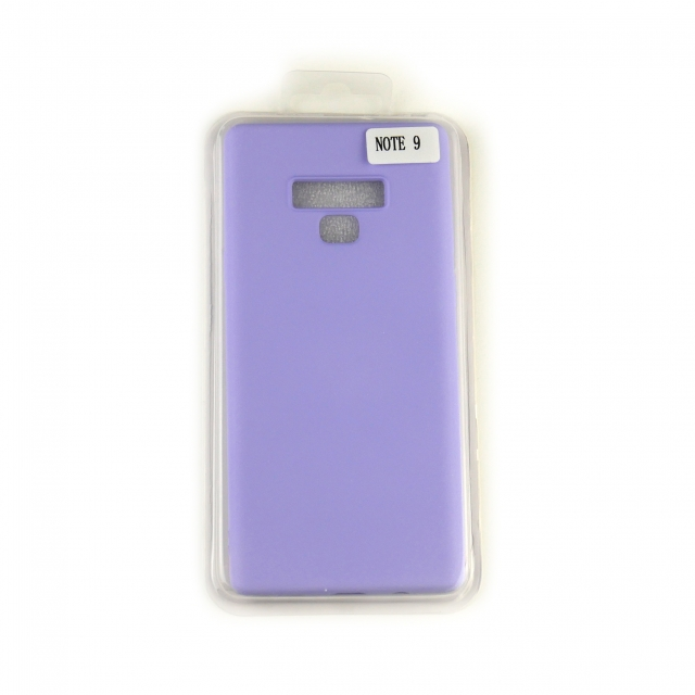 Чехол Silicone Case Full Cover Samsung Note 9 Лавандовый