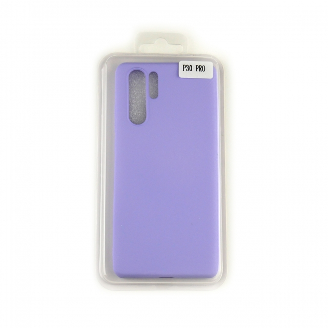 Чехол Silicone Case Full Cover Huawei P30 Pro Лавандовый