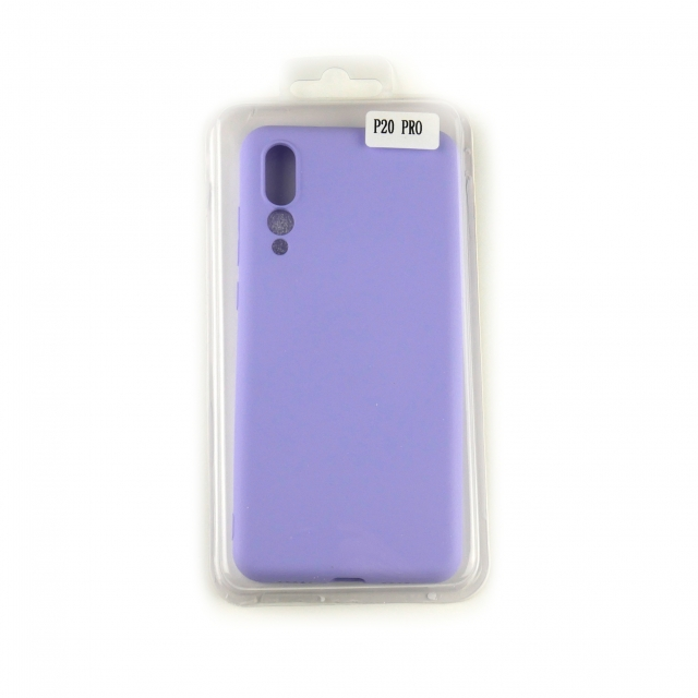 Чехол Silicone Case Full Cover Huawei P20 Pro Лавандовый