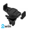 Холдер Hoco CA38 Platinum sharp air outlet in-car holder Black