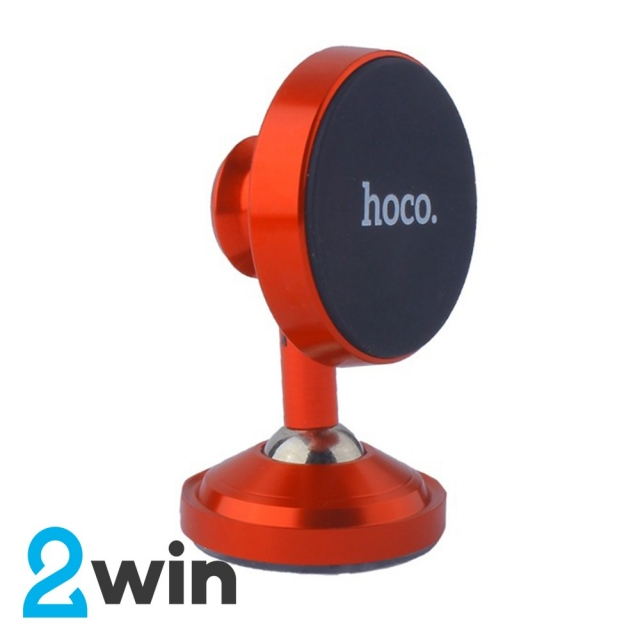 Холдер Hoco CA36 Plus Dashboard metal magnetic in-car holder Red