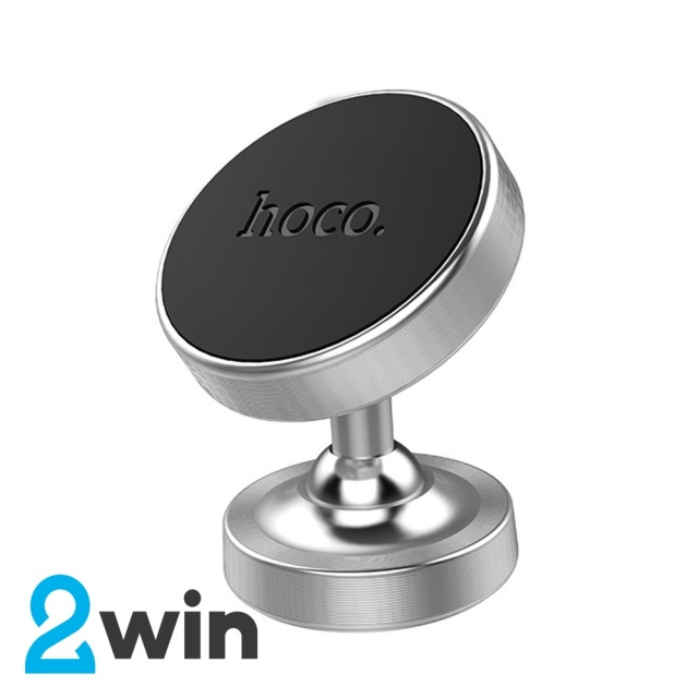 Холдер Hoco CA36 Plus Dashboard metal magnetic in-car holder Silver