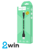 Кабель Hoco X32 Excellent charging data cable for Lightning Black