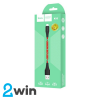 Кабель Hoco X32 Excellent charging data cable for Lightning Red