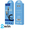 Кабель Hoco X26 Xpress charging data cable for Micro Black&Gold