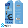 Кабель Hoco X26 Xpress charging data cable for Type-C Black&Gold