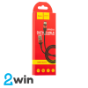 Кабель Hoco X26 Xpress charging data cable for Type-C Black&Red