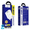 СЗУ Hoco C57A Speed charger PD+QC3.0 charger(EU) 2USB 3.1A White