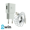 СЗУ WUW T19 charger(EU) Quick Charge 2.0 with Micro Cable 1USB 2A White