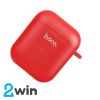 БЗУ Hoco CW22 Wireless charging case for AirPods Red