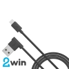 Кабель Hoco  UPM10 L shape changing cable for Micro USB Black