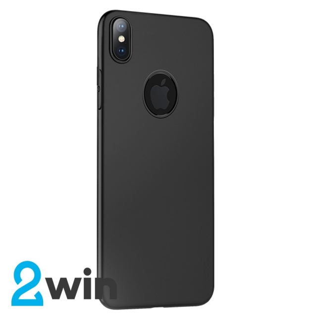 Чехол Hoco Fascination series protective case for iPhone XS Max (with hole) Черный
