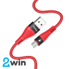 Кабель Hoco  U53 4A Flash charging data cable for Micro Red